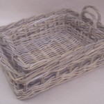 Basket Ware made of Kubu Grey Rattan Materials