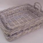 Basket Ware made of Kubu Grey Rattan Materials