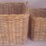 Kubu Natural Rattan Basket