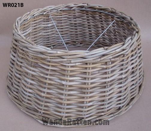 Woven Basket Lamp Shade : Rattan lamp shades wanda