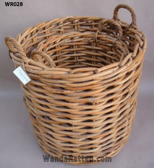Good quality and high durability strong rattan basket