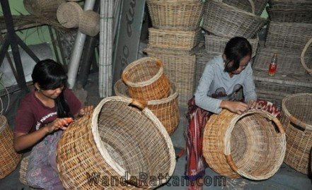 Rattan baskets with best quality