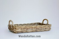 Wicker Basket for Kitchen