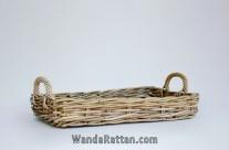 Wicker Basket for Kitchen